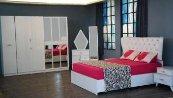 Beyaz Patik Yatak Odası